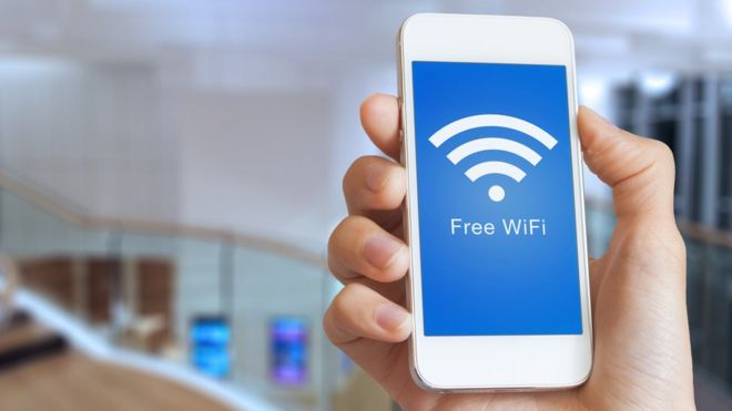 wifi carga de movil